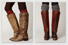 Yes to fall!  Boots!