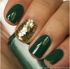 Hunter green and gold #tartecosmetics