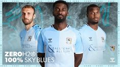 Coventry City have revealed the home and away kits for the season! Sports Shirts, Football Shirts, Football Stuff, Liverpool Kit, Coventry City Fc, Looking Forward To Seeing, Manchester City, Home And Away, Change The World