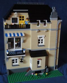 Lego Modular Town House | Flickr - Photo Sharing!