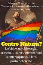 """Manifesto convegno """"Contro Natura"""""""