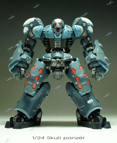 [Gigas Parade] 1/24 Skull Panzer Prototype. Work by Pia (Kornkys) Full photoreview No.25 Big Size Images
