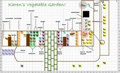 I mentioned last year that I used the Mother Earth News Garden Planner to map out my Front Yard Vegetable garden. It was great. A useful tool that I figured I only needed to use once.
