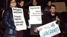 Donald Trump ordena que se haga una lista semanal de delitos cometidos por inmigrantes