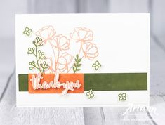 Stampin with Liz Design: Share What You Love - Stampin' Up! Artisan Blog Hop Stamping Up, Homemade Cards, Thank You Cards, Cardmaking, Card Ideas, Artisan, Love, Promotion, Catalog