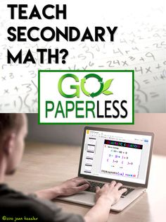 Looking for 1:1 or paperless activities for Secondary Math? Engaging, fun Google® Slide lessons and activities give your students the boost they need into 21st century learning.