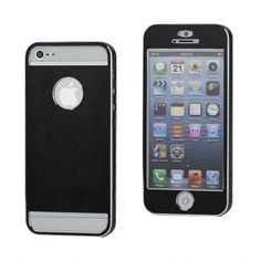 Titanium Ultra-thin case  Black voor iPhone 5/5S  #covermaniabe #iphone #iphonecover  http://www.cover-mania.be