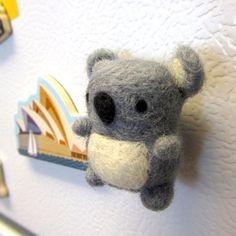 cute needle felting animals - Google Search