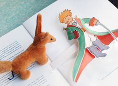 Ceremony reading from the Little Prince. (love the idea of readings from children's books)