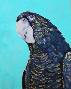 Buy Black Cockatoo, Acrylic painting by Julie Hollis on Artfinder. Discover thousands of other original paintings, prints, sculptures and photography from independent artists. Quirky Art, Weird Art, Original Artwork, Original Paintings, Bird Artwork, Buy Art Online, Cockatoo, Acrylic Painting Canvas, Paintings For Sale