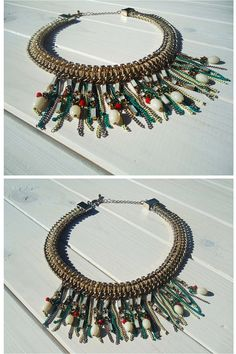 1980s Hollywood vintage Egyptian necklace Christmas gift