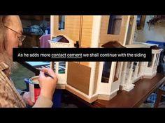 Exterior Siding Installation Tutorial - YouTube