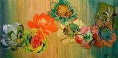 Colleen Sandland - Uncontrollable Urge (Paintings) h: 16 x w: 32 in / h: x w: cm Modern Art, Contemporary Art, Affordable Art Fair, International Artist, Amazon Art, Medium Art, Original Artwork, Abstract Art, Sculptures