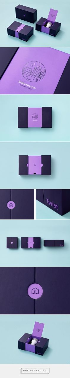 Twist - Light bulb with speaker packaging design by Communal Creative (USA) - :