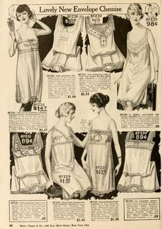 dd380b584 New York styles   fall and winter 1919-1920. Vintage Corset