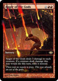 anger of the gods