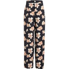 Designer Clothes, Shoes & Bags for Women Floral Wide Leg Trousers, Printed Trousers, Designer Trench Coats, Joseph Fashion, Floral Print Pants, Colored Pants, Wool Pants, Fashion Pants, Cool Outfits