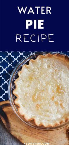Pastry Recipes, Pie Recipes, Baking Recipes, Cookie Recipes, Dessert Recipes, Strawberry Swirl Cheesecake, Cheesecake Strawberries, Strawberry Sauce, Water Pie Recipe