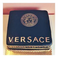 Versace birthday cake by 2tarts Bakery. www.2tarts.com