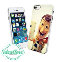 Woody Selfie  Design for iPhone 4, 4S, 5, 5C, 5S, iPod Touch 5, And Samsung Galaxy S3, S4, S5, Note 3 Case
