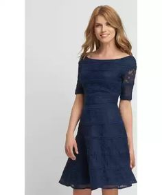 135bc7cb5fd6 Orsay Elegantní šaty s kombinovanou krajkou