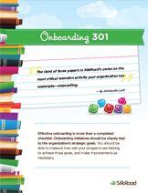 Onboarding 301 | Strategic Onboarding | SilkRoad