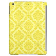 French Empire Damask Pattern #11 iPad Air Case - elegant gifts gift ideas custom presents