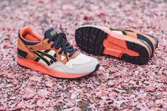 Asics Gel Lyte V x Ubiq Midnight Bloom