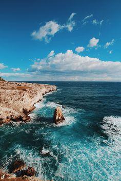 Untitled by Databhi// Nature, Landscape, Sea, Ocean, Waves, Rocks, Coast, Travel, VSCO, Myuploads