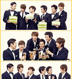 Shinhwa in suits <3