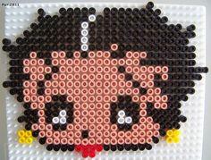betty boop hama perler beads