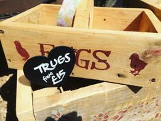 Lovely #handmade #trugs available #eggs #chickens #sussexpoultry