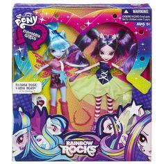 "MLP Equestria Girls Rainbow Rocks ""Dazzlings"" 2-pack Aria Blaze Doll"