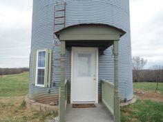 Grain bin cabin guest house