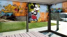 Línea de Persianas Enrollables Disney, ofreciendo atractivos diseños y materiales de la más alta calidad en el mercado.
