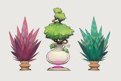 Plants.  Yep., Amy Phillips on ArtStation at http://www.artstation.com/artwork/plants-yep