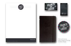 Francis & Louise - Basic Graphics Package by Jamie Brock, via Behance