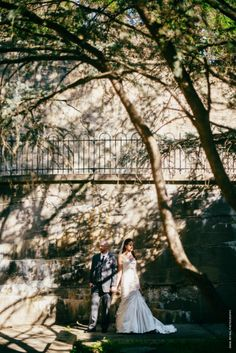 Bride and Groom wedding portrait at the Maryland Zoo // Anna Reynal Photography | Cheerful Photography