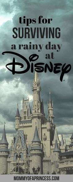 Tips and Tricks for Surviving a rainy day at Disney World in Orlando FL. Helpful advice on how to make the most of rainy and stormy weather at Walt Disney World - Travel Orlando - Ideas of Travel Orlando Disney World Resorts, Voyage Disney World, Viaje A Disney World, Disney Day, Disney World Planning, Disney World Trip, Disney Vacations, Disney Parks, Disney Honeymoon