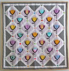 A walk in Deventer quilt from www.sarahfielke.com