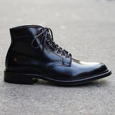 Alden x Epaulet Black Shell Cordovan Raven Ryden Boot