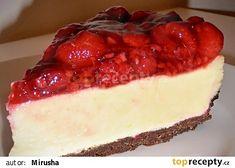 Malinový cheesecake s bílou čokoládou recept - TopRecepty.cz
