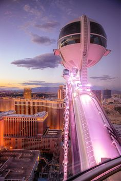 High Roller - Close Up View - Las Vegas - Learn all about My First Hacked Travel Trip (to Las Vegas) and how I saved $1,023.88 http://travelnerdnici.com/first-hacked-travel-trip-las-vegas/ - Explore the World with Travel Nerd Nici, one Country at a Time. http://TravelNerdNici.com