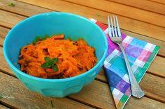 BATÁT A LA CARBONARA Grains, Rice, Chicken, Meat, Food, Eten, Seeds, Meals, Korn