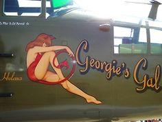 "B-25 Mitchell - ""Georgie's Gal""."