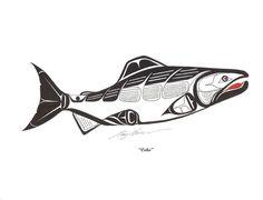 Pacific Northwest Indian Art of the NekaneOnakwa Arte Haida, Haida Art, Native Art, Native American Art, Maori Symbols, Native Symbols, Arte Tribal, Inuit Art, Indigenous Art