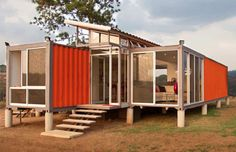 House made from 2 cargo shipping containers#Repin By:Pinterest++ for iPad#
