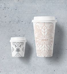 Londinium Branding by Cansu Merdamert – Inspiration Grid Food Packaging Design, Coffee Packaging, Packaging Design Inspiration, Grid Design, Graphic Design, Paper Cup Design, Coffee Label, Espresso Coffee, Coffee Cups