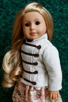 18 inch American Girl Doll Clothing Linen and by TheSurfinMonkey.