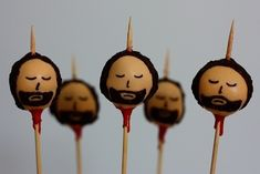 If you're feeling up to it, serve Ned head cake pops.